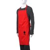 Weber Barbecue Apron in Red with Black Kettle