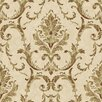 <strong>York Wallcoverings</strong> Saint Augustine Neoclassical Damask Wallpaper