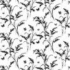 York Wallcoverings Tall Grass Butterflies Floral Botanical Wallpaper