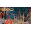 <strong>York Wallcoverings</strong> Portfolio II Graphic Art London Cityscape Wall Mural
