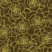 <strong>York Wallcoverings</strong> Bling Bouquet Floral Botanical Wallpaper