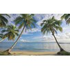 York Wallcoverings Portfolio II View with Palm Trees Wall Mural