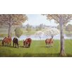 <strong>Portfolio II Horse Farm with Fences Wall Mural</strong> by York Wallcoverings