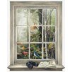 Mural Portfolio II Bird Watching Trompe L'Oiel Window Accent Wall Sticker