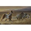 <strong>York Wallcoverings</strong> Portfolio II Desert Horse, Sage Plains Grasses and Foothill Mountains Wall Mural