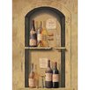 <strong>York Wallcoverings</strong> Portfolio II Wine Bottle Niche Wall Mural