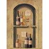 York Wallcoverings Portfolio II Wine Bottle Niche Wall Mural