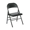 <strong>Office Star Products</strong> Metal Folding Chair (Set of 4)