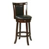 """Office Star Products OSP Designs 30"""" Swivel Bar Stool with Cushion"""