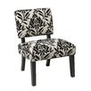 <strong>Office Star Products</strong> Jasmine Accent Chair in Paradise