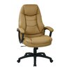 Office Star Products Oversized Executive Chair with Padded Arms
