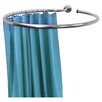 <strong>Stainless Steel Circular Shower Rail and Curtain Rings</strong> by Techstyle