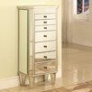 <strong>Powell Furniture</strong> Jewelry Armoire with Mirror