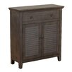 Powell Furniture 1 Drawer 2 Door Console