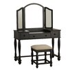 Powell Furniture Vanity Set with Mirror