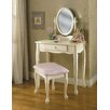 <strong>Powell Furniture</strong> Vanity Set with Mirror