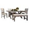Powell Furniture Turino 6 Piece Dining Set