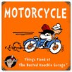 <strong>Busted Knuckle Garage Kid's Motorcycle Vintage Advertisement</strong> by Almost There