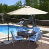 Swim Time 10' Santiago Cantilever Umbrella