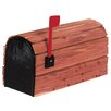 Solar Group Cedar Wrap Rural Mailbox Kit