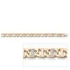 Palm Beach Jewelry Cubic Zirconia Men's Link Bracelet