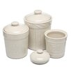 <strong>Signature Housewares</strong> Sorrento 3 Piece Canister Set