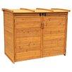 Leisure Season Horizontal Refuge 5.5 Ft. W x 3 Ft. D Wood Storage Shed