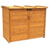 Leisure Season Horizontal Refuge 5.5ft. W x 3ft. D Wood Storage Shed
