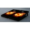 Victory Tailgate Volleyball Flaming Cornhole Game Set