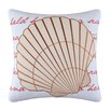 C & F Enterprises Scallop Shell Embroidered Pillow