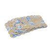 C & F Enterprises Seashells Reversible Quilted Scallop Placemat (Set of 12)