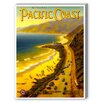 Americanflat Pacific Coast Vintage Advertisement on Canvas