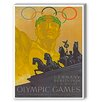 Americanflat Olympic Games Vintage Advertisement on Canvas