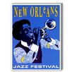 Americanflat New Orleans Jazz Festival Graphic Art