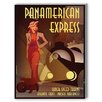 Americanflat Panamerican Express Vintage Advertisement Graphic Art