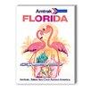 Americanflat Florida Amtrak Vintage Advertisement Graphic Art