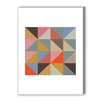 Americanflat Harlequin 2 Graphic Art on Canvas