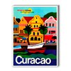 Americanflat Curacao Vintage Advertisement on Canvas