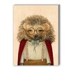 Americanflat Hedgehog Graphic Art on Canvas
