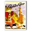Americanflat Puerto Rico Vintage Advertisement Graphic Art