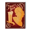Americanflat Draft Beer Vintage Advertisement on Canvas