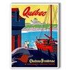 Americanflat Quebec Vintage Advertisement Graphic Art