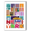 Americanflat New York Graphic Art on Canvas