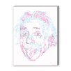 Americanflat Albert Einstein Graphic Art on Canvas