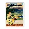 Americanflat California This Summer Graphic Art on Canvas