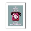 Americanflat Call Your Mom Graphic Art on Canvas