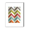 Americanflat Chevrons Graphic Art on Canvas