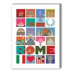 <strong>Rome Graphic Art on Canvas</strong> by Americanflat