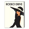 Americanflat Rodeo Drive Graphic Art on Canvas