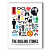Americanflat Rolling Stones Graphic Art on Canvas